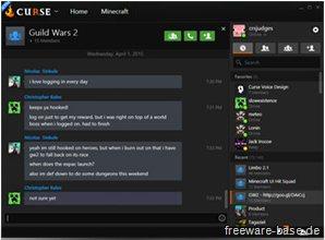 Vorschau Twitch Desktop App - Curse Voice - Bild 2