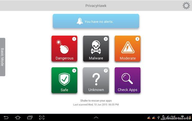 Vorschau PrivacyHawk fuer Android - Bild 2