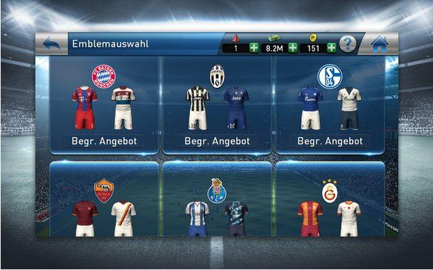 Vorschau PES Club Manager für Android und iOS - Bild 2