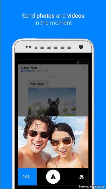 Vorschau Facebook Messenger für Android - Bild 2