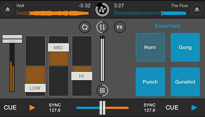 Vorschau Cross DJ Free fuer iPhone - Bild 2