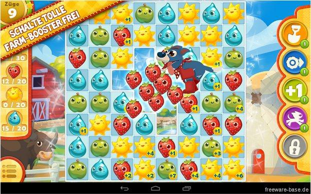 Vorschau Farm Heroes Saga für Android und iPhone - iPad - Bild 2