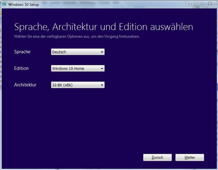Vorschau Media Creation Tool für Windows 10 - Bild 2