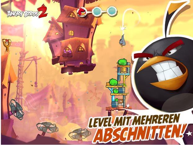 Vorschau Angry Birds 2 für Android und iPhone - Bild 2