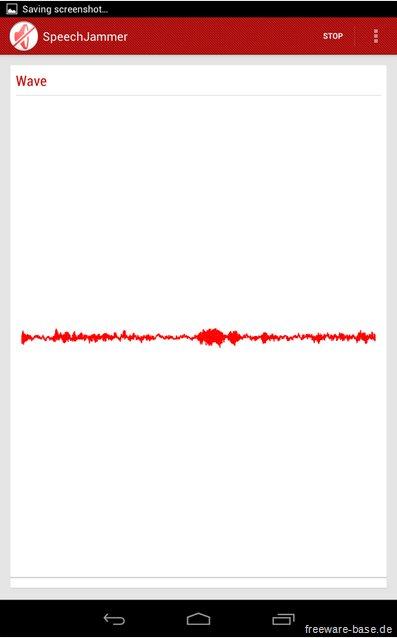 Vorschau SpeechJammer fuer Android und iPhone - Bild 2