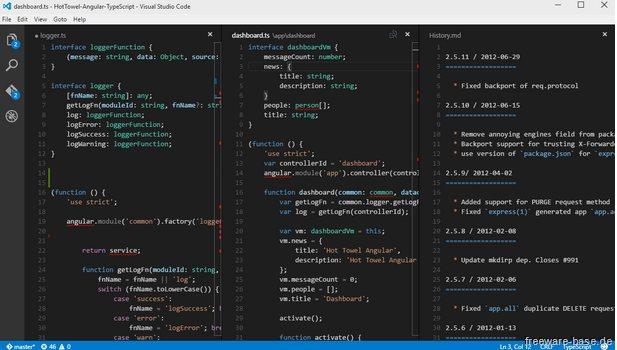Vorschau Microsoft Visual Studio Code - Bild 2