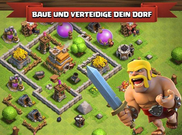 Vorschau Clash of Clans für Android und iOS - Bild 2