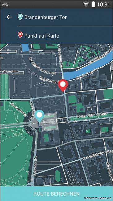 Vorschau Bike Citizens Fahrrad Navi GPS für Android - Bild 2