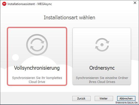 Vorschau MegaSync - Bild 2