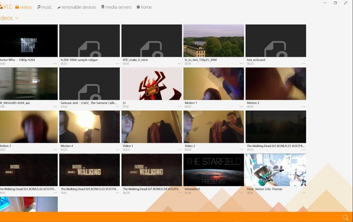 Vorschau VLC Media Player fuer Windows 8 und 10 App - Bild 2
