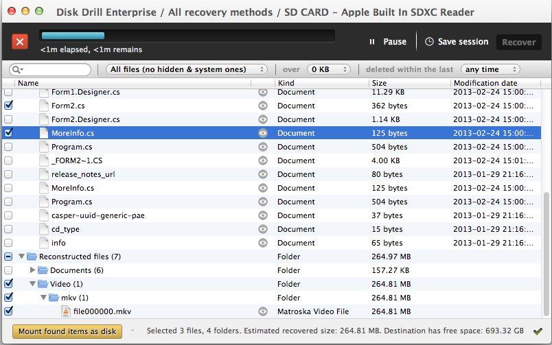 Vorschau Disk Drill für Mac - Bild 2