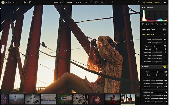 Vorschau Polarr Photo Editor für Chrome - Bild 2