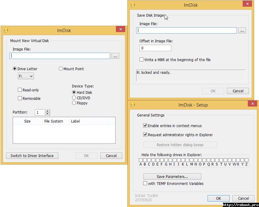 Vorschau ImDisk Toolkit - Bild 2