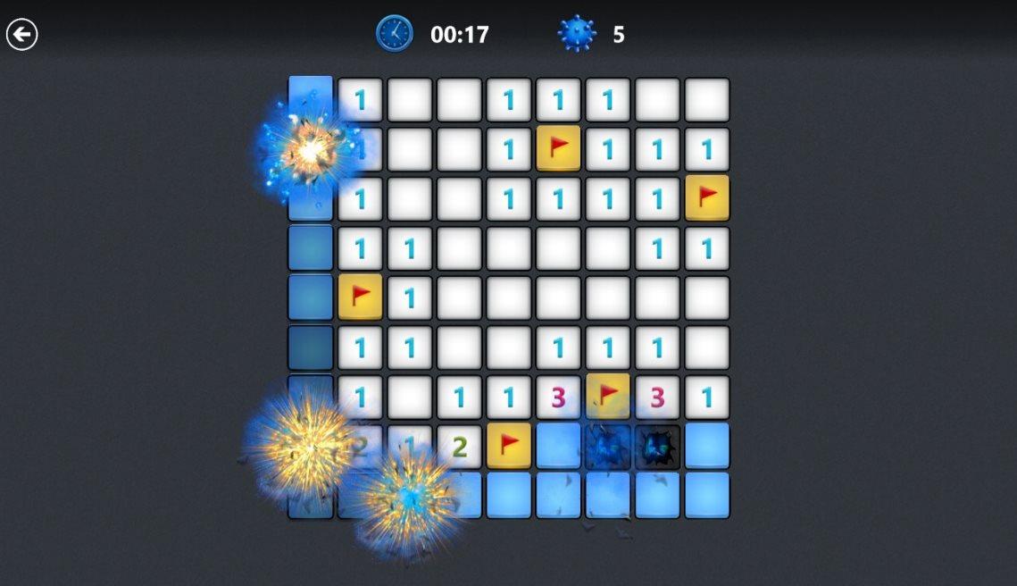 Vorschau Microsoft Minesweeper fuer Windows 10 App - Bild 2