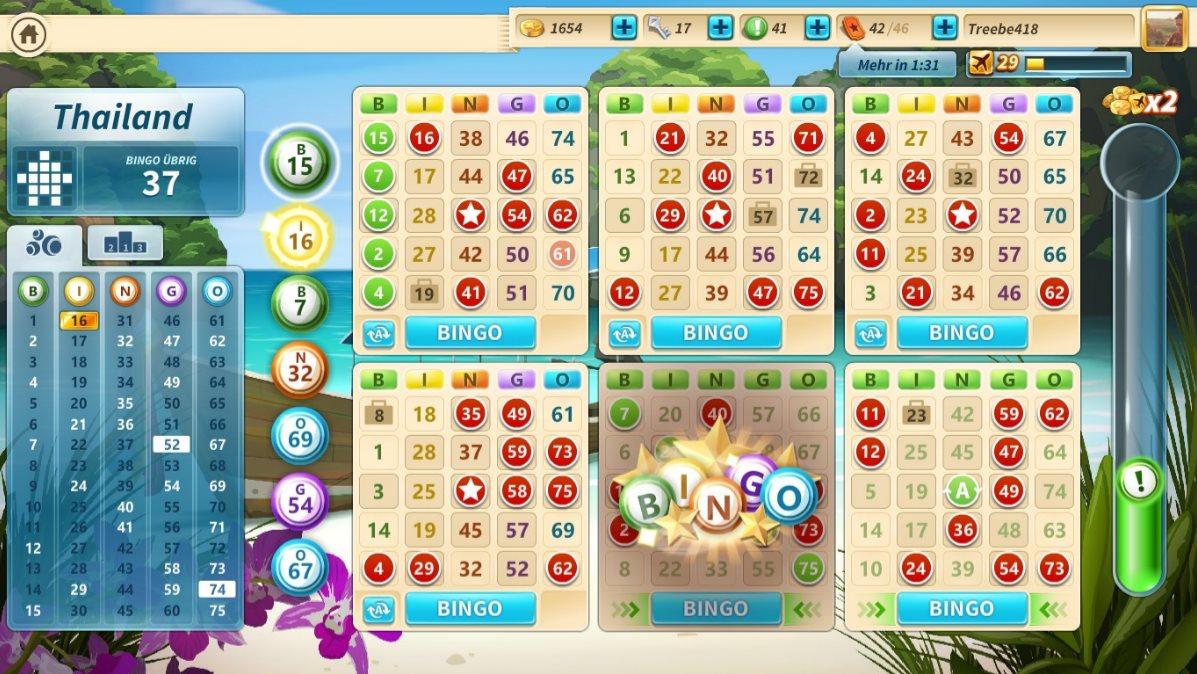 Vorschau Microsoft Bingo fuer Windows 8 und 10 App - Bild 2