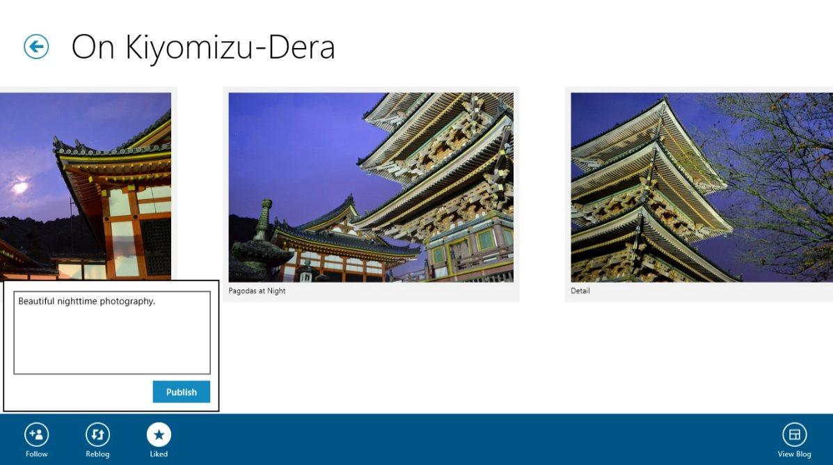Vorschau Wordpress fuer Windows 8 und 10 - Bild 2