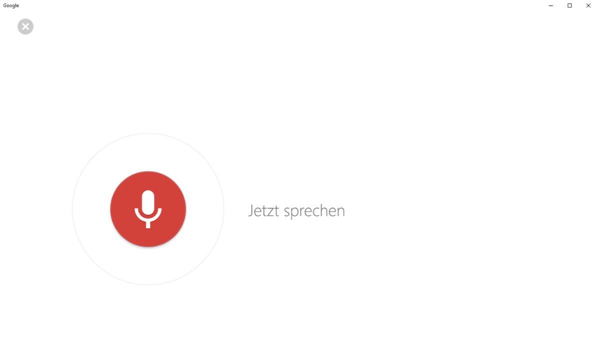 Vorschau Google Search fuer Windows 8 und 10 - Bild 2