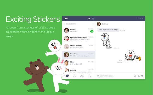 Vorschau Line Messenger für Chrome - Bild 2