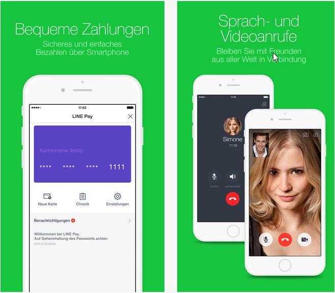 Vorschau Line Messenger für iPhone und iPad - Bild 2