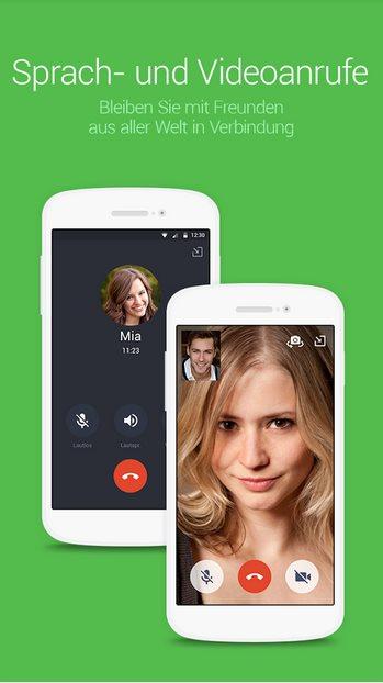 Vorschau Line Messenger für Android - Bild 2