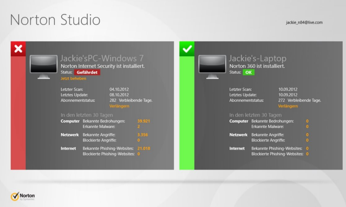 Vorschau Norton Studio fuer Windows 8 und 10 - Bild 2
