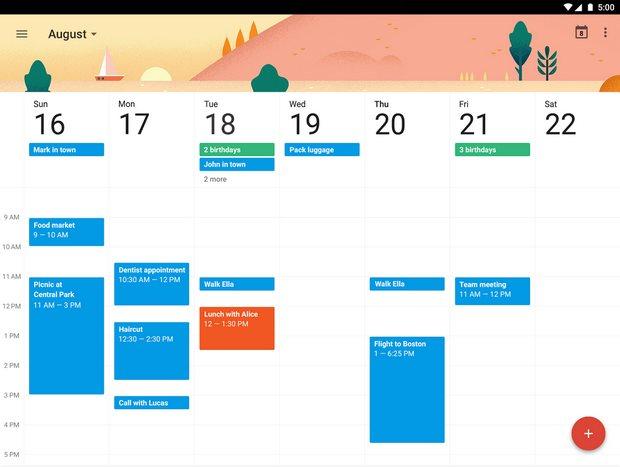 Vorschau Google Kalender fuer Android - Bild 2