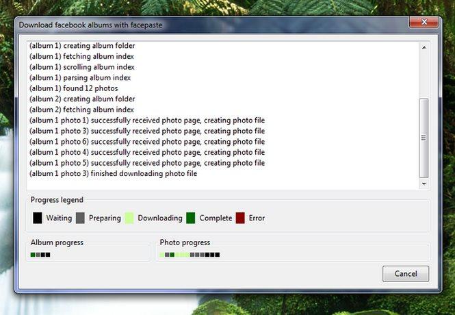 Vorschau Facepaste fuer Firefox - Bild 2