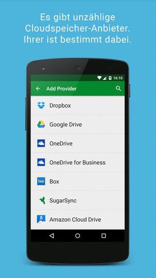 Vorschau BoxCryptor fuer Android - Bild 2