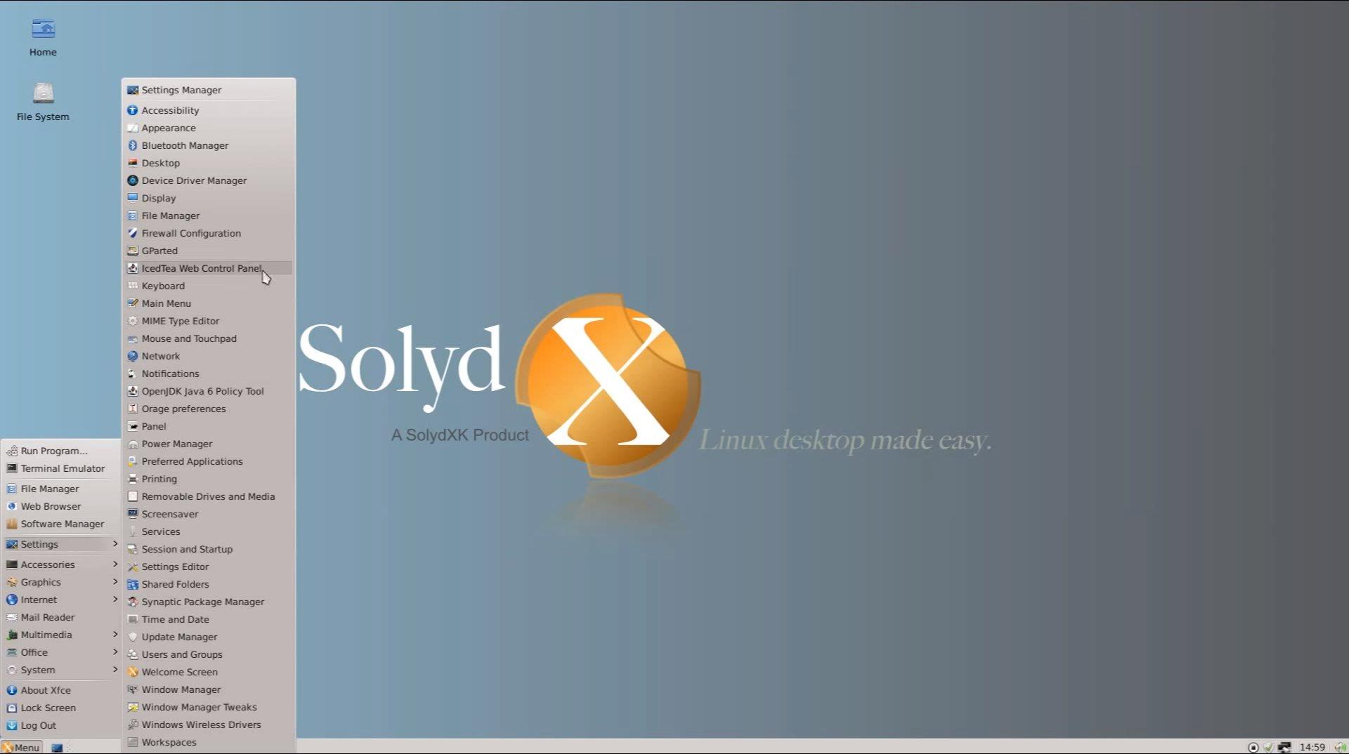 Vorschau SolydXK Linux - Bild 2