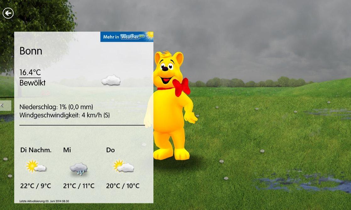 Vorschau Haribo App fuer Windows 8 und 10 - Bild 2