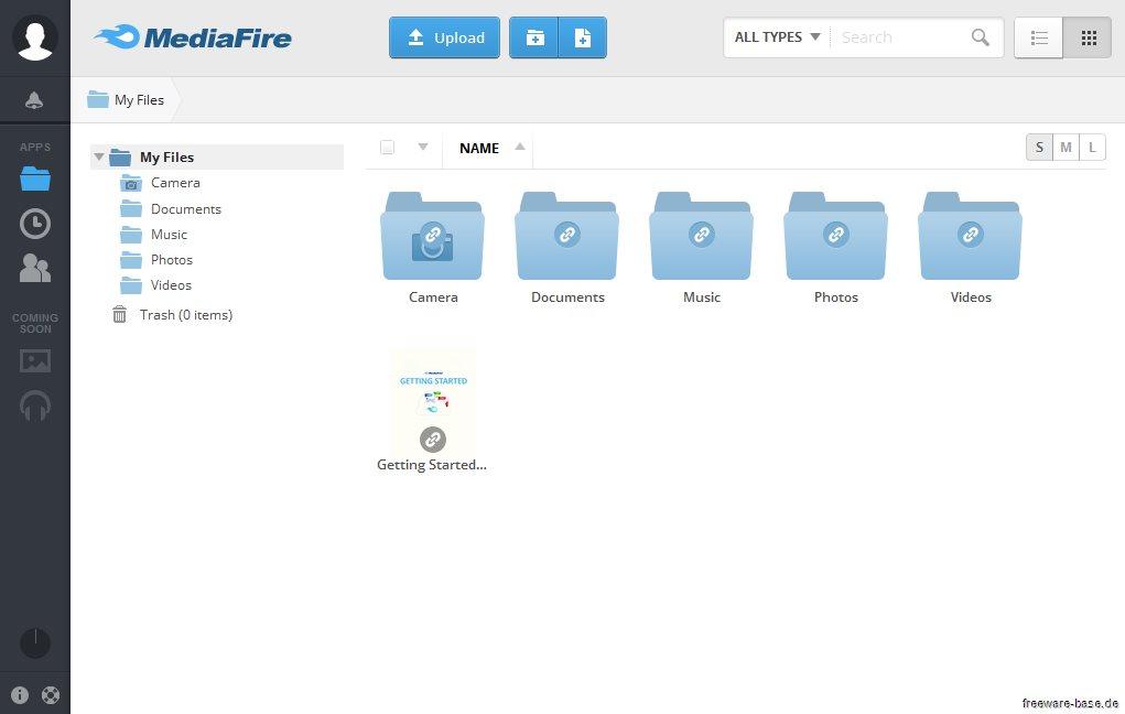 Vorschau MediaFire Desktop - Bild 2