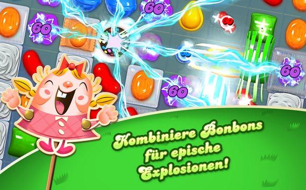 Vorschau Candy Crush Saga für Android - Bild 2