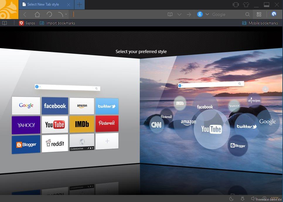 Vorschau UC Browser for PC - Bild 2