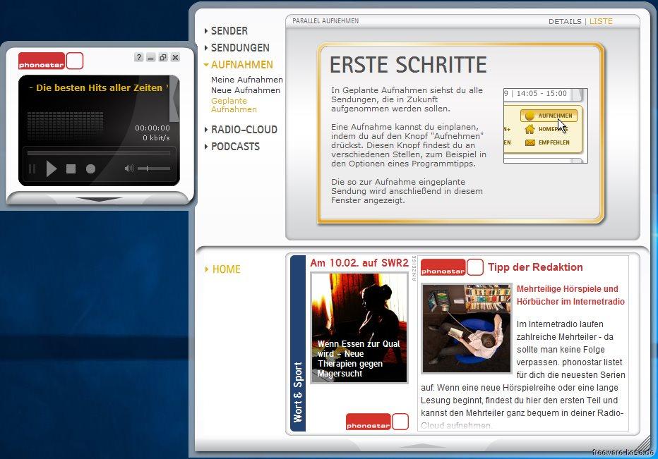 Vorschau phonostar-Player - Bild 2