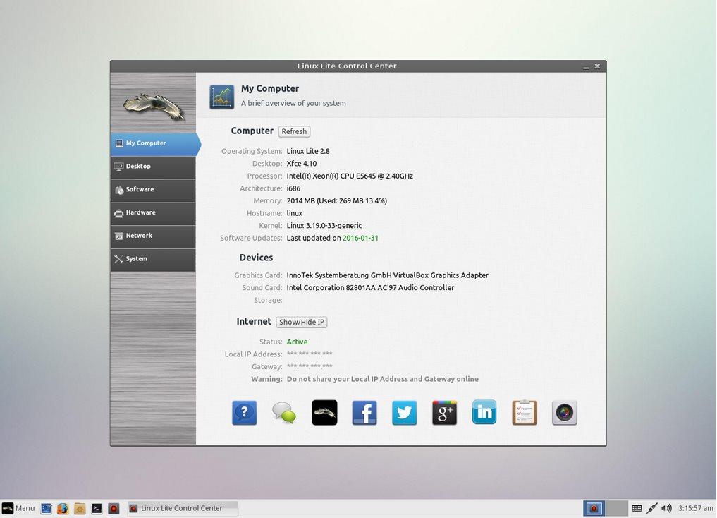 Vorschau Linux Lite - Bild 2