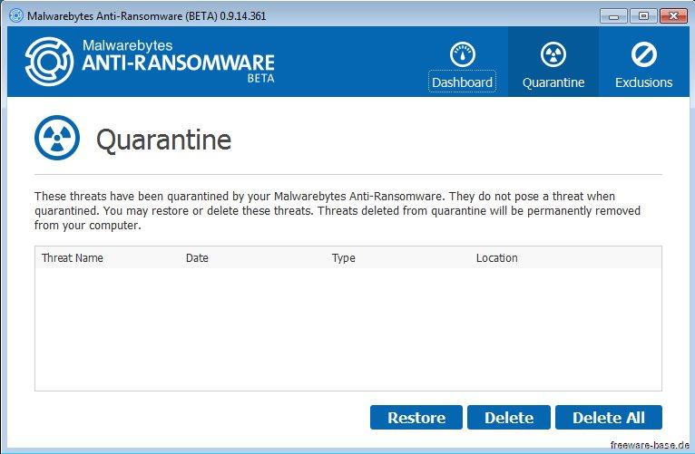Vorschau Malwarebytes Anti-Ransomware - Bild 2