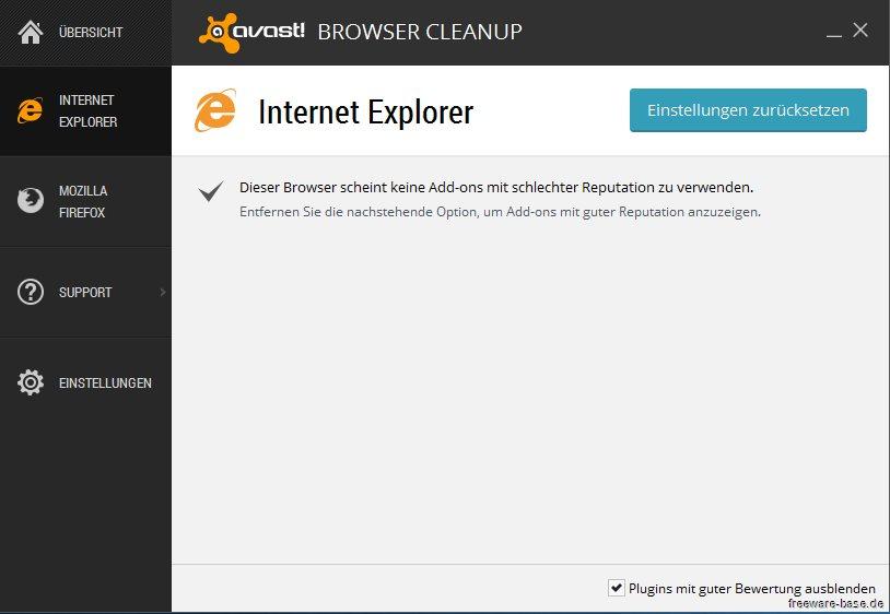 Vorschau Avast Browser Cleanup - Bild 2