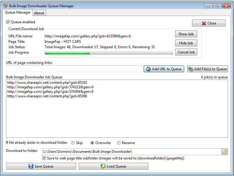 Vorschau Bulk Image Downloader - Bild 2