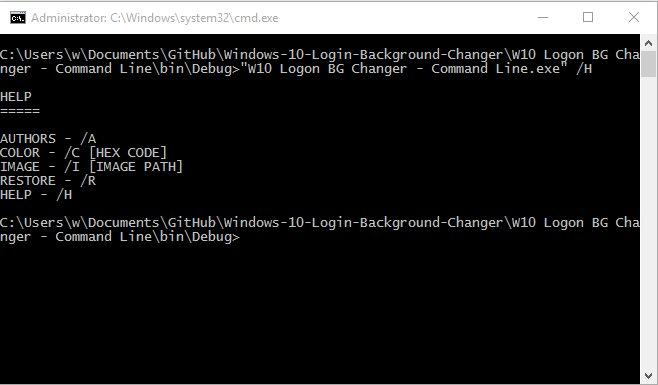 Vorschau Windows 10 Login Background Changer - Bild 2