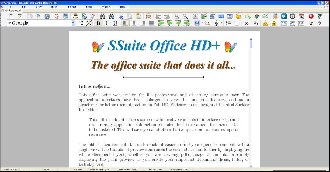 Vorschau SSuite OmegaOffice HD+ - Bild 2