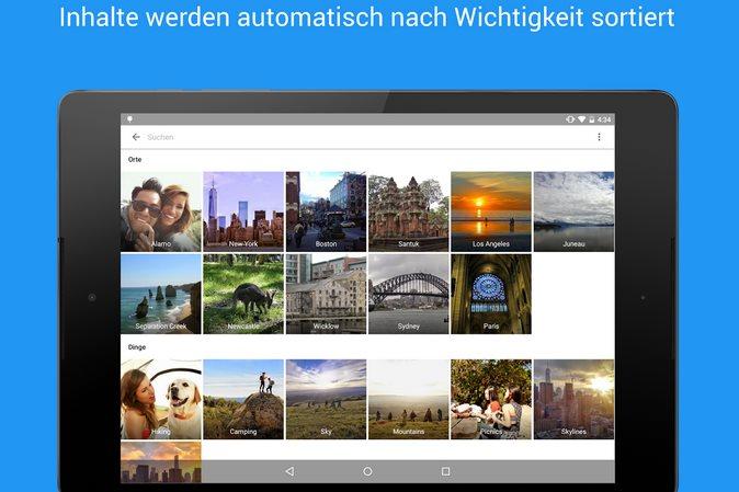 Vorschau Google Fotos für Android - Bild 2
