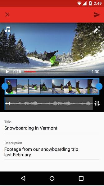 Vorschau YouTube für Android - Bild 2