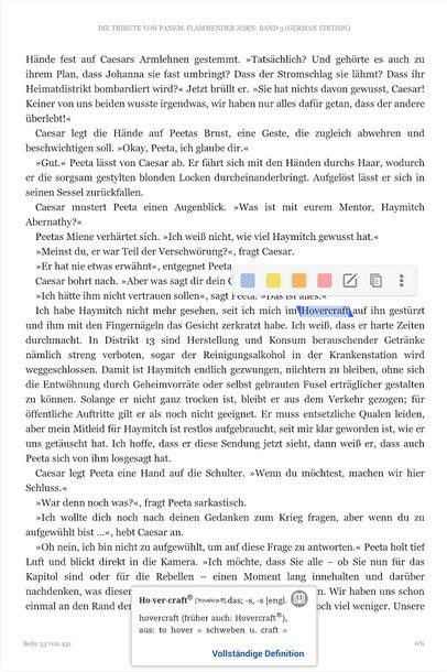 Vorschau Kindle für Android - eBook Reader - Bild 2