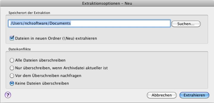 Vorschau Express Zip ZIP-Programm Mac - Bild 2