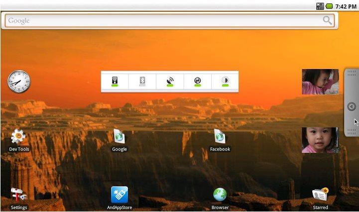 Vorschau Android-x86 - Bild 2
