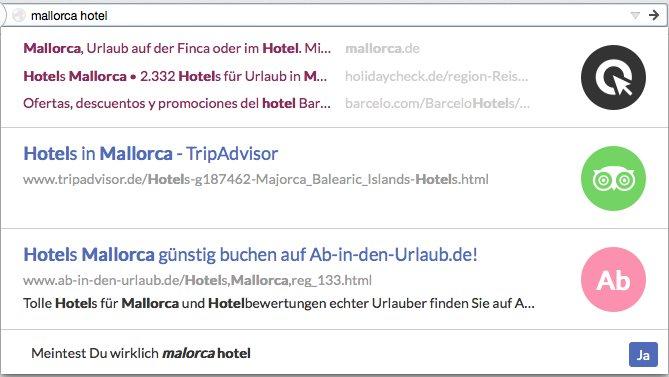 Vorschau Cliqz für Firefox - Bild 2