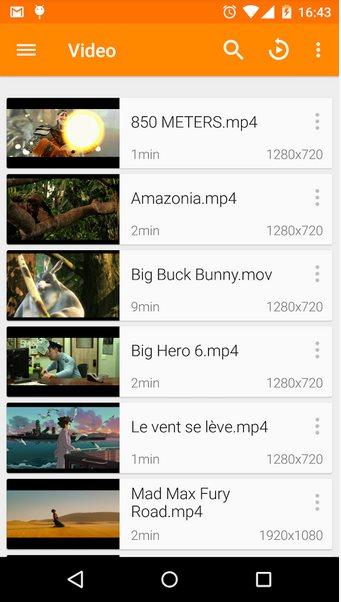 Vorschau VLC für Android - Bild 2