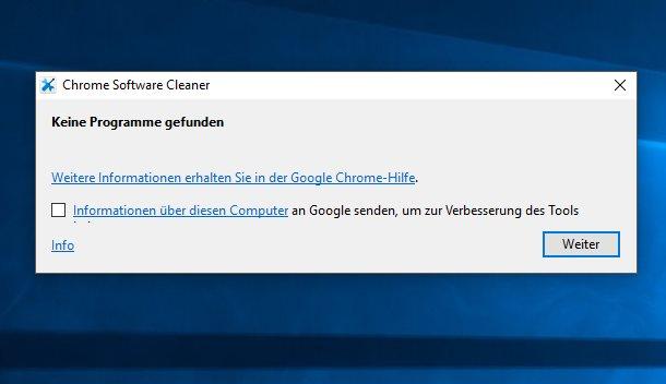 Vorschau Chrome Cleanup Tool - Chrome Software Cleaner - Bild 2