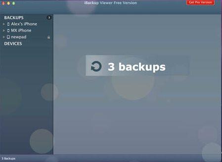 Vorschau iBackup Viewer für Mac - Bild 2