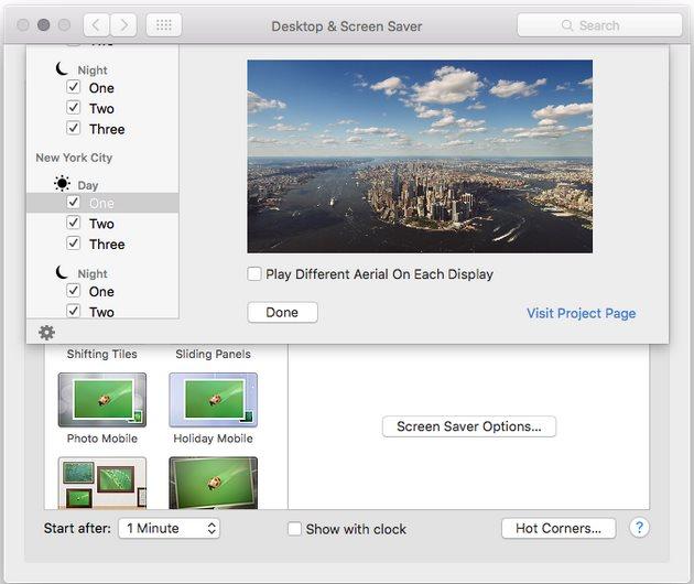 Vorschau Aerial - Apple TV Bildschirmschoner für Mac - Bild 2